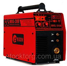 Зварювальний напівавтомат (інверторний) Edon MIG-308 (+MMA)