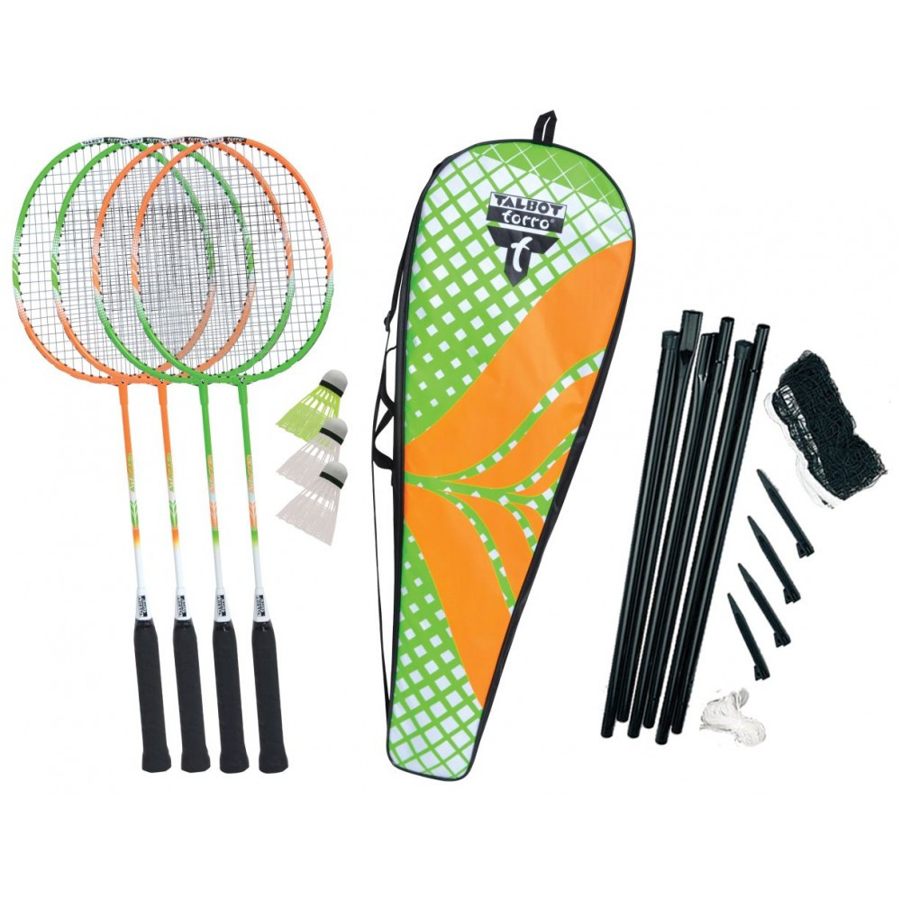 Набор для бадминтона Talbot Badminton Set 4 Attacker Plus (449406)