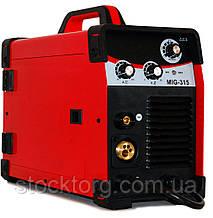 Зварювальний напівавтомат (інверторний) Edon MIG-315 (+MMA)