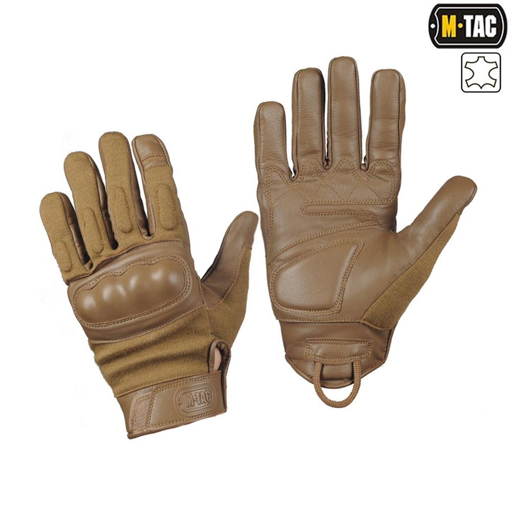 M-Tac перчатки тактические Nomex Assault Tactical Mk.7 койот