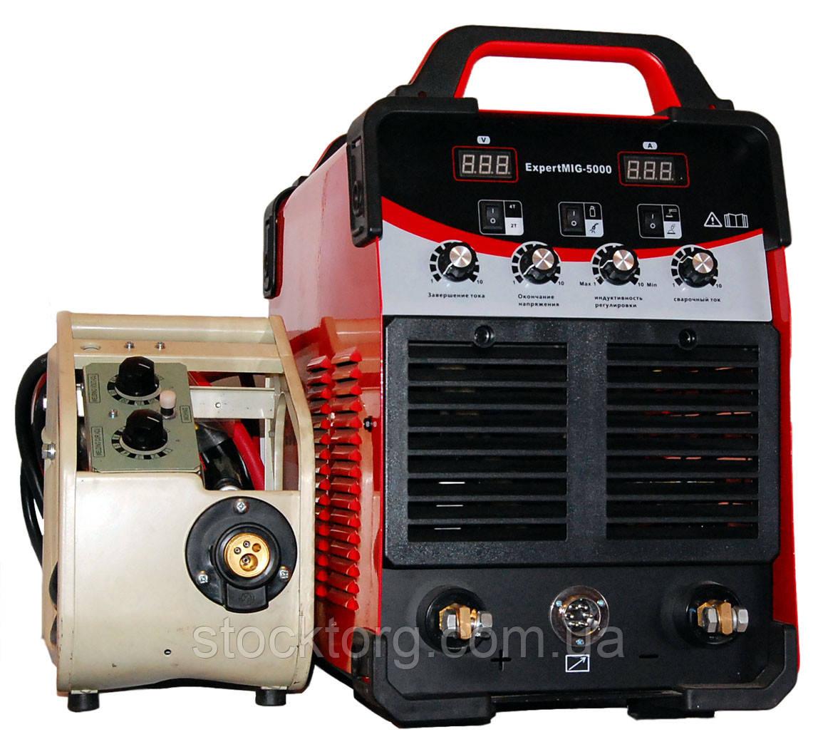 Сварочный инверторный полуавтомат Edon EXPERTMIG 5000Q
