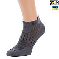 M-Tac шкарпетки спортивні легкі dark grey, фото 1