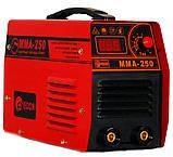 Сварочный инвертор Edon MMA-250 чемодан, фото 2