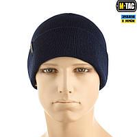 M-Tac шапка тонка в'язка 100% акрил dark navy blue, фото 1