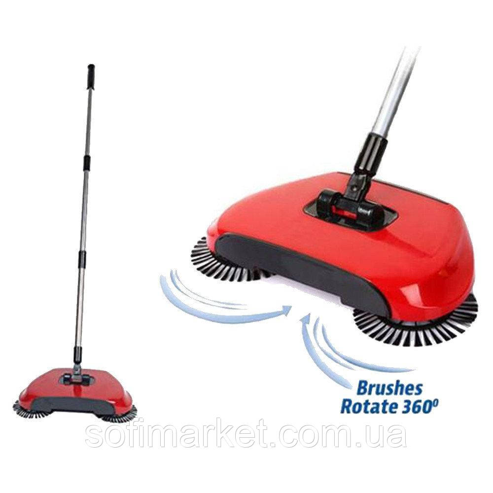 Механическая щётка веник швабра для уборки пола Sweep Drag all in one