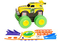 Машинка на бат. Trix Trux набір з трасою (жовтий)
