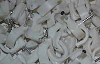 Скоба круглая для кабеля d6