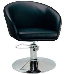 Кресло парикмахерское Мурат P,  экокожа, цвет черный