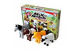 Пазл 3D детский магнитные животные POPULAR Playthings Mix or Match (корова, лошадь, овца, собака), фото 6