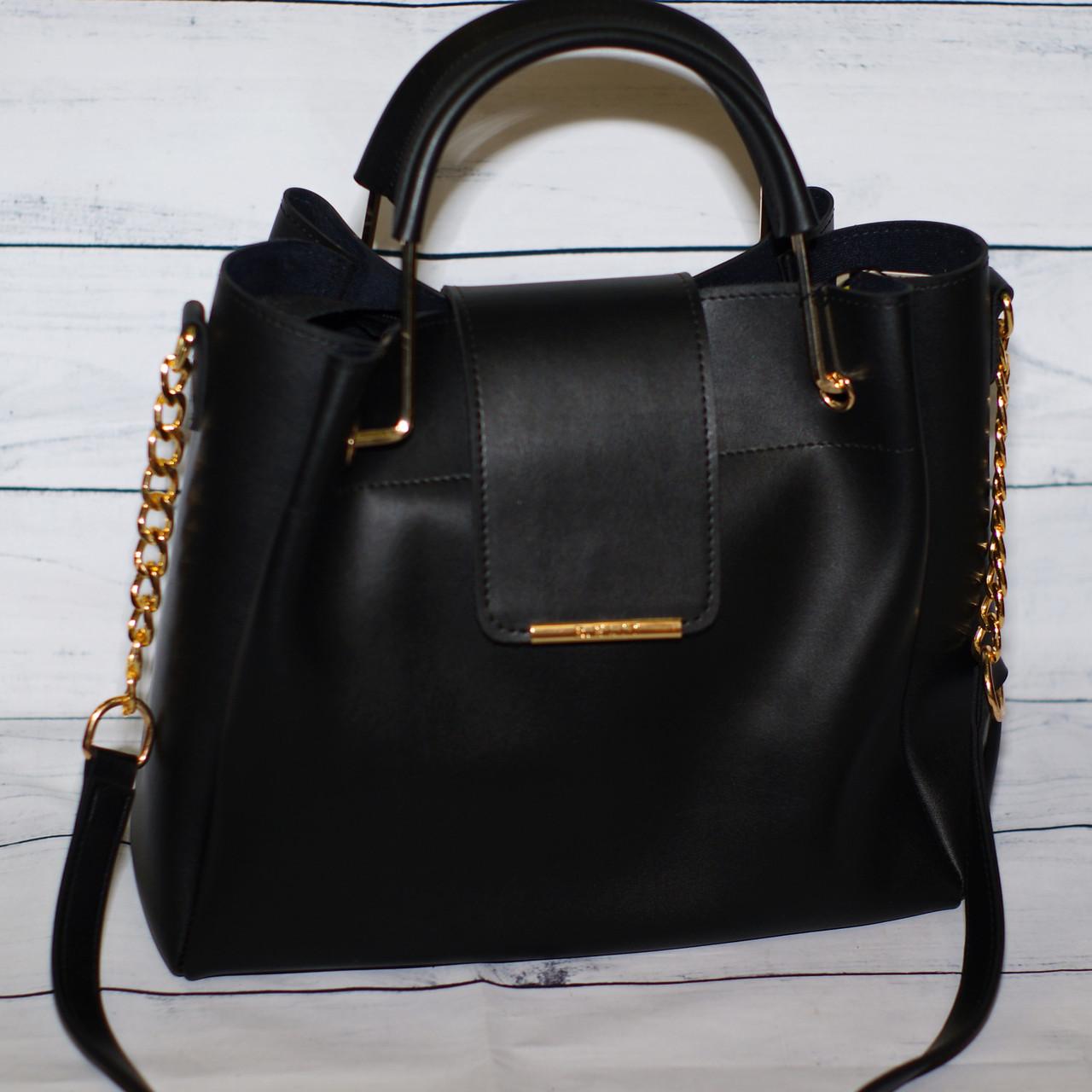 Женская сумка B.Elit  (Би Элит), цвет черный ( код: IBG053B )