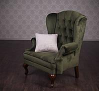 """Мягкое кресло """"Вольтер"""", или """"Вольтеровское кресло"""". Каркас из дерева, цена от производителя, под заказ 7 дней"""