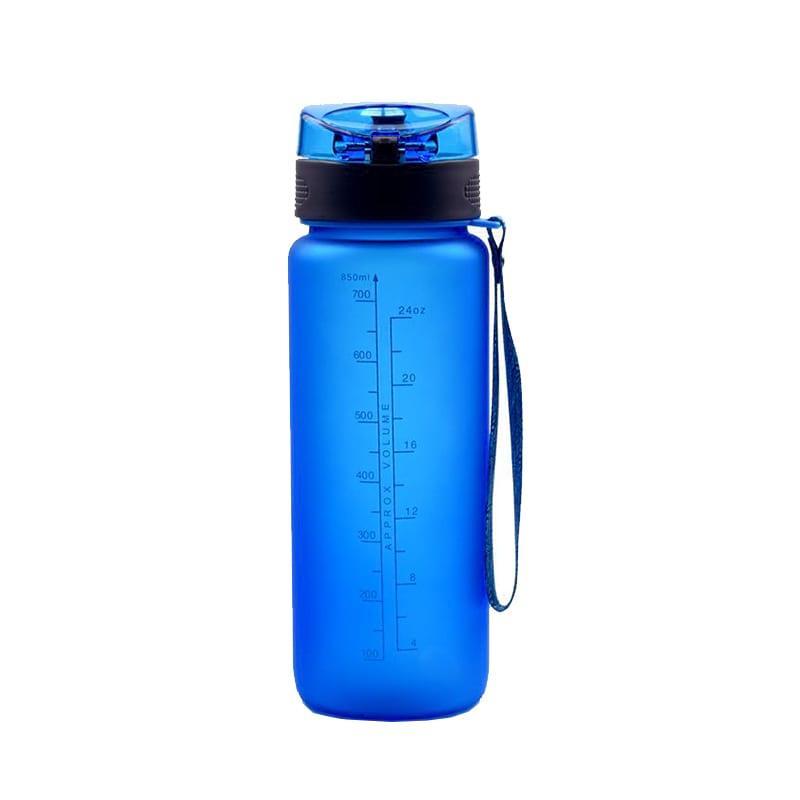 Бутылка для воды Casno 850 синяя (WB-4934)