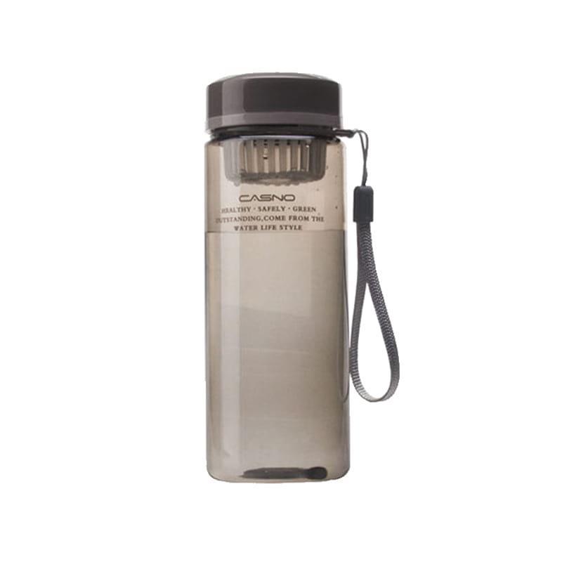 Бутылка для воды Casno 570 чёрная (WB-4907)