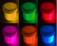 Набор Флуоресцентные пигменты 10 мл. для геля ,акрила, лака, дизайнов светятся в ультрафиолете