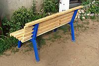 Лавочка (скамейка) садовая, парковая, дачная 2000 мм. ТМ БеМаС