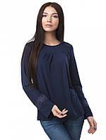 Синяя женская блузка (в размере XS - 3XL)