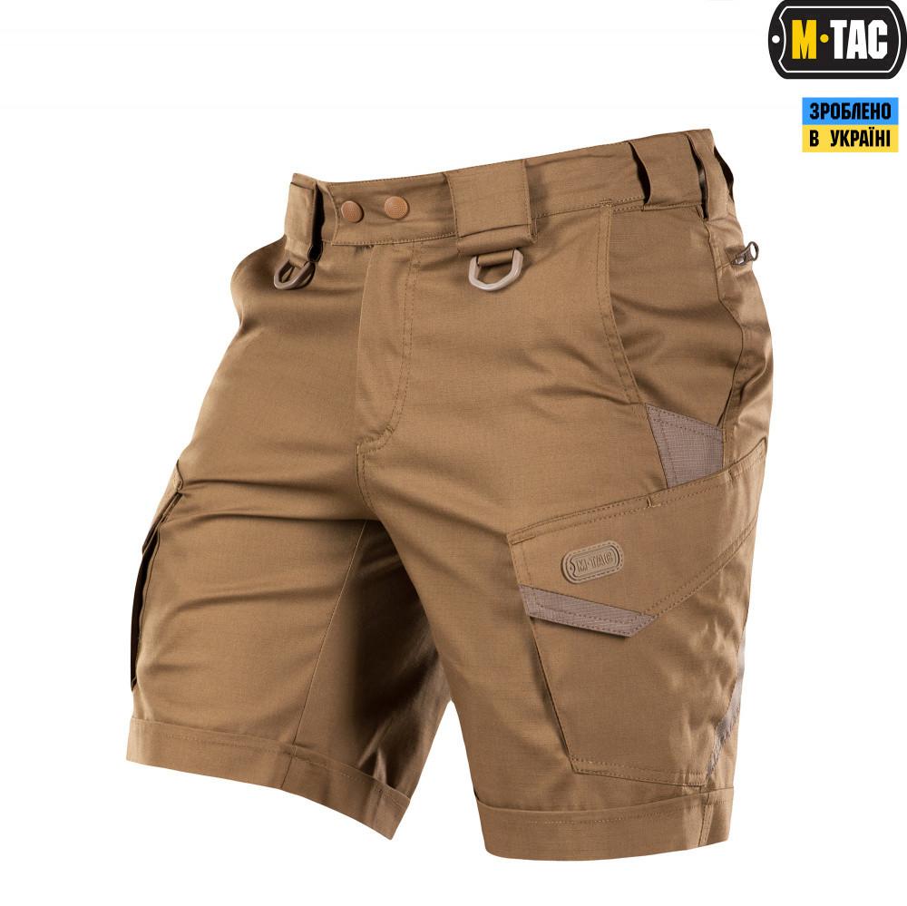 M-Tac шорты тактические Aggressor Lite coyote brown