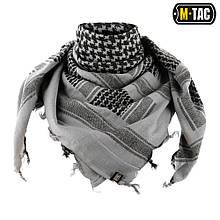 M-Tac шарф-шемаг плотный серый / черный