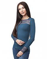 Женская блузка с кружевом (в размере XS - 3XL), фото 1
