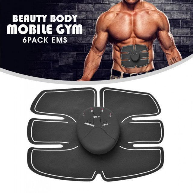 Миостимулятор вибротренажер мышц пресса Beauty body mobile gym