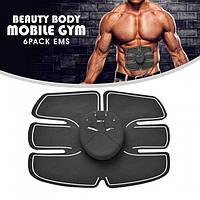 Миостимулятор вибротренажер мышц пресса Beauty body mobile gym, фото 1