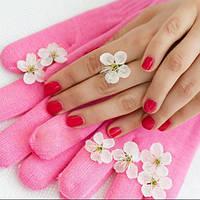 Гелиевые солевые  Spa перчатки /  Гелієві сольові Spa рукавички, фото 1