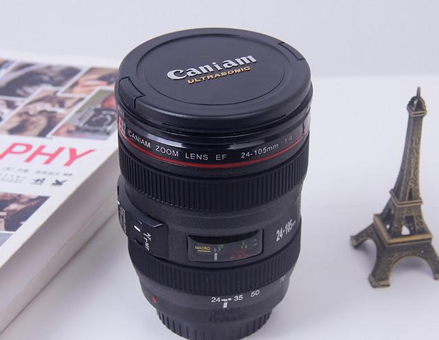Чашка-Термос (термокржка) в виде объектива Cup camera lens Caniam Canon EF 24 105