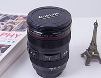 Чашка-Термос (термокржка) в виде объектива Cup camera lens Caniam Canon EF 24 105, фото 1
