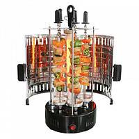 Электрошашлычница BBQ Domotec на 6 шампуров, фото 1