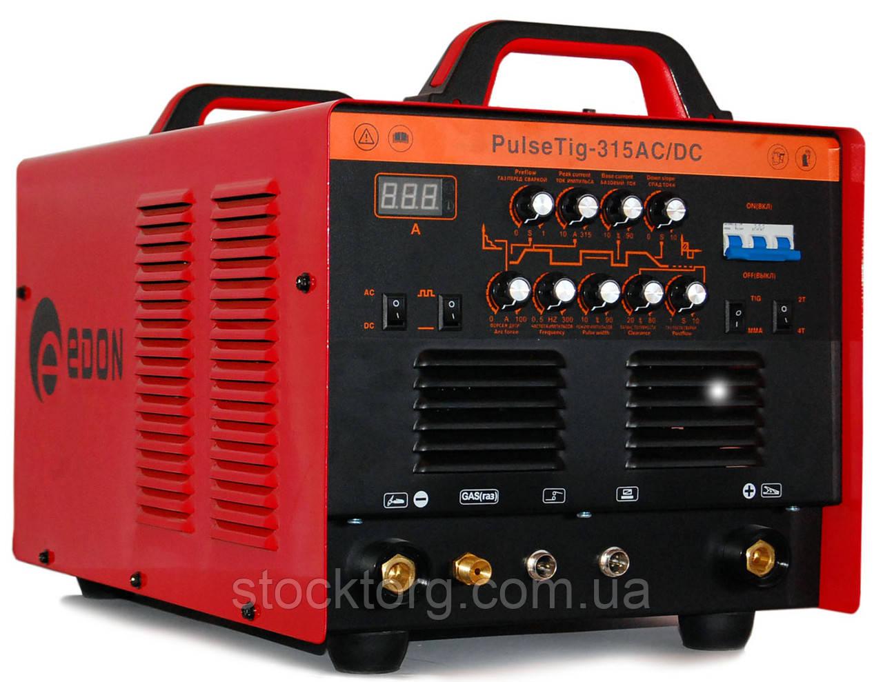Аргонно-дугового зварювальний апарат Edon Pulsetig-315 AC/DC