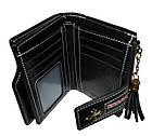 Женский кошелек клатч Baellerry Clover (13x9.5x3 см) пудровый, фото 3