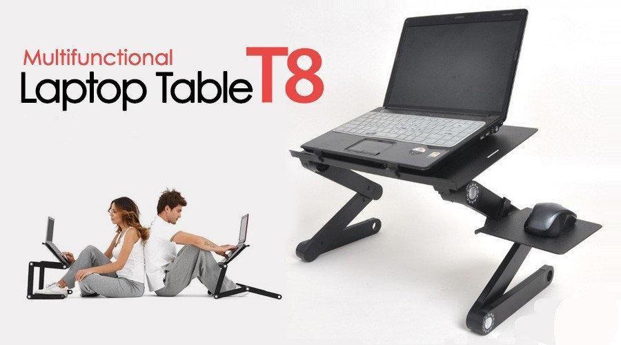 Раскладной столик трансформер для ноутбука LAPTOP TABLE T8