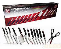 Набор кухонных ножей из нержавеющей стали Mibacle Blade 13 в 1 (Реплика), фото 1