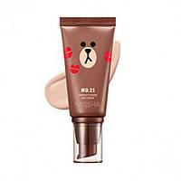 ББ крем Missha M Perfect Cover BB Cream SPF42 PA+++ Line Friends Edition 50 мл 21 тон, 50 мл