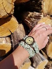 Ремешок для часов из трикотажной пряжи Bobilon