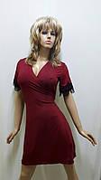 Халат женский на запах из микромасла  422, фото 1