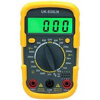 Цифровой мультиметр | тестер UK- 830 LN