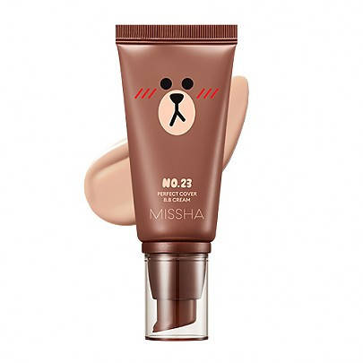 ББ крем Missha M Perfect Cover BB Cream SPF42 PA+++ Line Friends Edition 50 мл 23 тон, 50 мл, фото 2