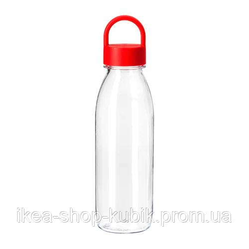 ИКЕА ИКЕА/365+ Бутылка для воды, красный, 0.5 л