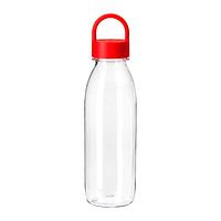 ИКЕА ИКЕА/365+ Бутылка для воды, красный, 0.5 л, фото 1