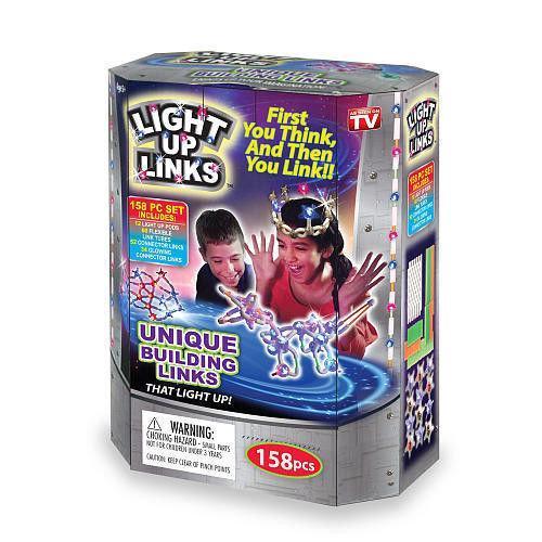 Детский светящийся конструктор   Дитячий конструктор Light Up Links