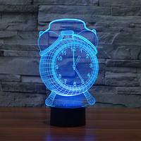 3D Светильник Часы, фото 1