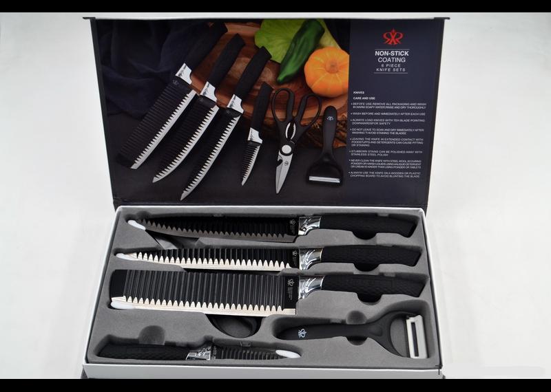 Набор кухонных ножей |  Набір кухонних ножів Non-stick (6 предметов)
