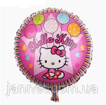 "Воздушный шарик ""Hello Kitty"" - 40см (без гелия)"
