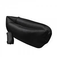 Ламзак  диван  надувной матрас  мешок   Lamzac AIR CUSHION   Черный, фото 1