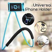 Держатель для телефона на шею 2 в 1 | монопод | селфи палка