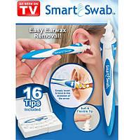 Прибор для чистки ушей Smart Swab/Прилад для чищення вух / ушечистка / ухочистка, фото 1