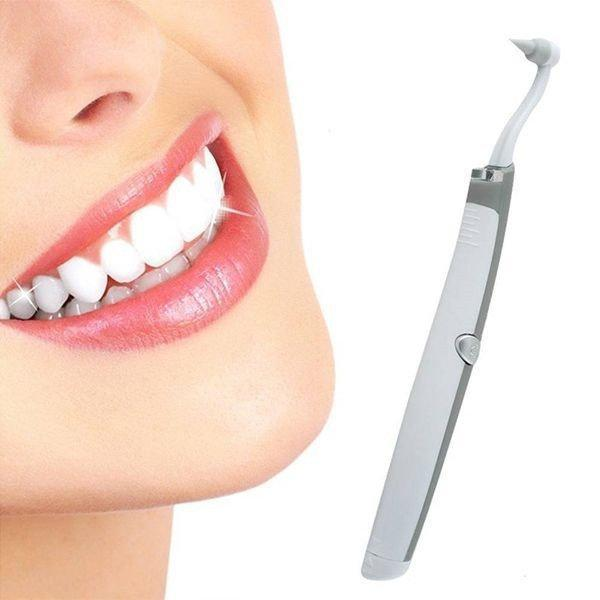 Электрический ультразвуковой Sonic Pic | средство для отбеливания зубов/засіб для відбілювання зубів
