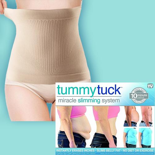 Моделирующий утягивающий пояс для похудения / Пояс для схуднення  Tummy Tuck | Тамми Так