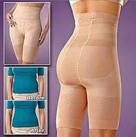 Белье для коррекции фигуры California Beauty Slim N Lift | Утягивающие шорты с высокой талией / Стягуючі шорти, фото 1